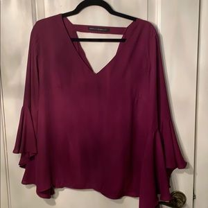 Super cute bell sleeve blouse